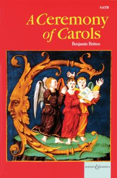 A Ceremony of Carols op. 28: 1942, rev. 1943 SATB and Harp or Piano (HL-48008895)