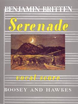 Serenade for Tenor, Op. 31: Tenor solo with Horns and Strings (HL-48008997)