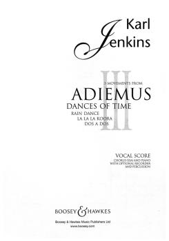3 Movements from Adiemus III (Dances of Time) (HL-48012057)