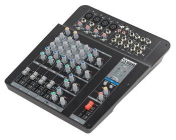 MixPad MXP124: Compact, 12-Channel Analog Stereo Mixer (SA-00140102)
