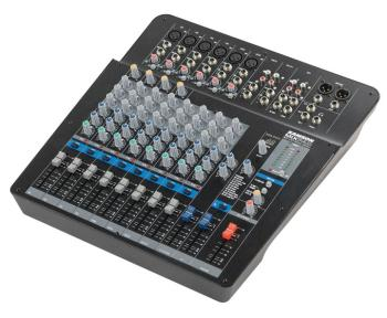 MixPad MXP144FX: 12-Channel Analog Stereo Mixer with Effects and USB (SA-00140105)