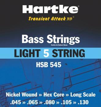 Hartke Transient Attack Bass Strings (Light 5 String) (HR-00140189)