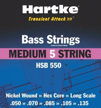 Hartke Transient Attack Bass Strings (Medium 5 String) (HR-00140190)