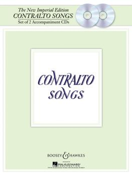 The New Imperial Edition: Accompaniment CDs Contralto Songs (HL-48018795)