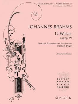 12 Waltzes from Op. 39 (Score and Parts) (HL-48019185)