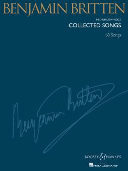 Benjamin Britten - Collected Songs: Medium/Low Voice 60 Songs (HL-48019419)