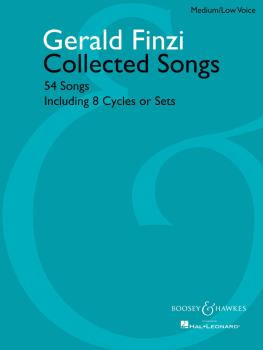 Collected Songs: 54 Songs, including 8 Cycles or Sets - Medium/Low Voi (HL-48019457)
