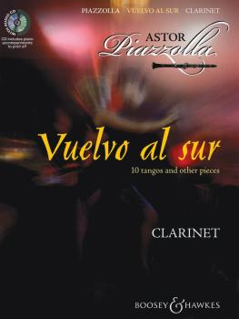 Vuelvo al sur: 10 Tangos and Other Pieces for Clarinet & Piano (HL-48019803)