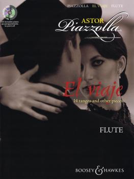Astor Piazzolla - El Viaje: 14 Tangos and Other Pieces for Flute with  (HL-48020859)