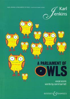 A Parliament of Owls: SSA Chorus, Saxophone, Percussion, and Piano Due (HL-48021032)