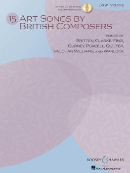 15 Art Songs by British Composers (Low Voice, Book/CD) (HL-48021114)