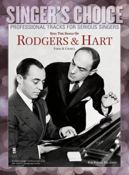 Sing the Songs of Rodgers & Hart: Singer's Choice - Professional Track (HL-00141144)
