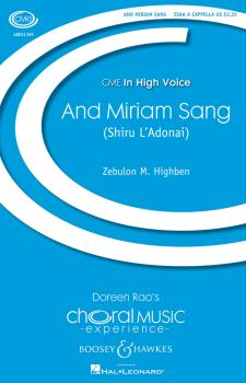 And Miriam Sang (Shiru L'Adonai): Shiru L'Adonai CME In High Voice (HL-48021195)