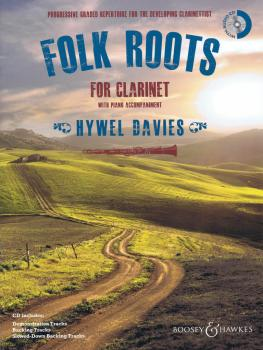 Folk Roots for Clarinet (With a CD of Performances, Backing Tracks, an (HL-48023017)