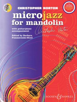 Christopher Norton - Microjazz for Mandolin (With Guitar/Piano Accompa (HL-48023147)
