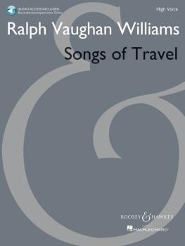 Songs of Travel: High Voice New Edition with Online Audio of Piano Acc (HL-48023158)