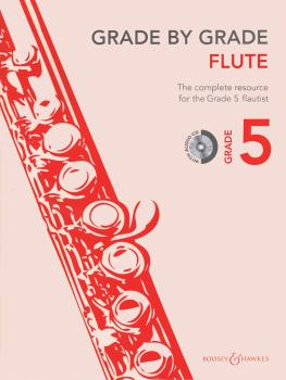 Grade by Grade - Flute (Grade 5) (With CD of Performances and Accompan (HL-48023379)