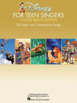 Disney for Teen Singers - Young Men's Edition: Classic and Contemporar (HL-00141566)