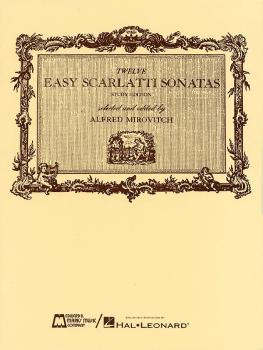 12 Easy Scarlatti Sonatas (Piano Solo) (HL-00009222)