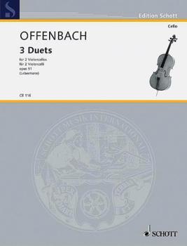 3 Duets Op. 51 (2 Cellos) (HL-49001486)