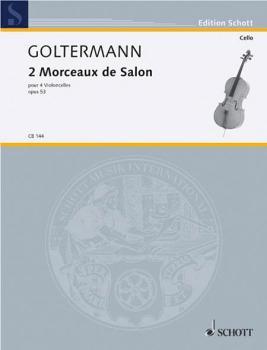 2 Morceaux de Salon, Op. 53 (4 Cellos) (HL-49001512)