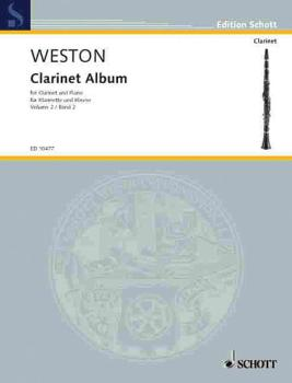 2nd Clarinet Album (Clarinet and Piano) (HL-49002388)