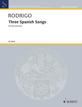 3 Spanish Songs (1951) (HL-49002433)