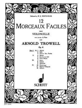 12 Easy Pieces, Op. 4: Book 1 Violoncello and Piano (HL-49002706)