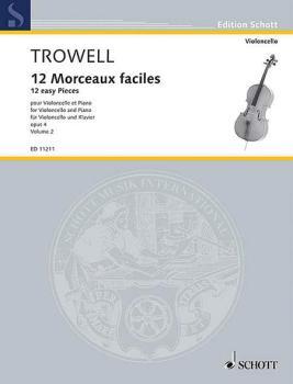 12 Easy Pieces, Op. 4: Book 2 Violoncello and Piano (HL-49002707)