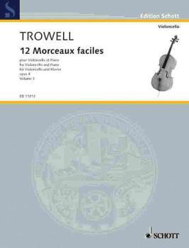 12 Easy Pieces, Op. 4: Book 3 Violoncello and Piano (HL-49002708)