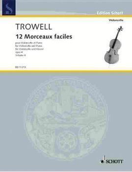 12 Easy Pieces, Op. 4: Book 4 Violoncello and Piano (HL-49002709)