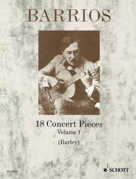 18 Concert Pieces for Solo Guitar - Volume 1 (HL-49003146)