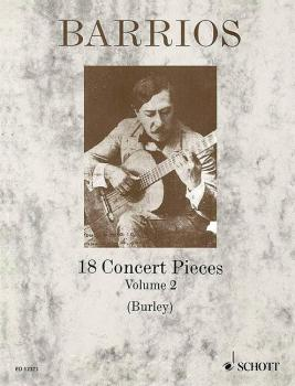 18 Concert Pieces for Solo Guitar - Volume 2 (HL-49003147)