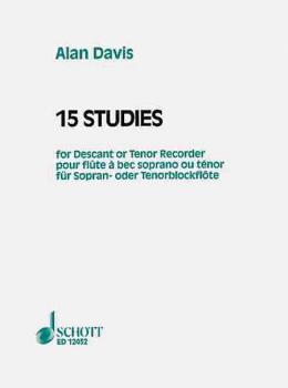 15 Studies for Soprano or Tenor Recorder (HL-49003190)