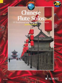 Chinese Flute Solos: 15 Traditional and Contemporary Pieces With a CD  (HL-49003193)