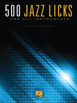 500 Jazz Licks (For All Instruments) (HL-00142384)
