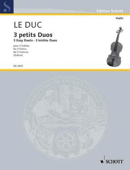 3 Easy Duets (2 Violins) (HL-49003983)
