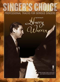 Sing the Songs of Harry Warren: Singer's Choice - Professional Tracks  (HL-00142486)