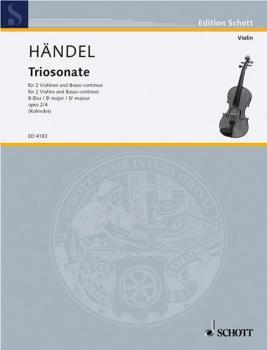 9 Trio Sonatas Op. 2, No. 4 (HL-49004681)