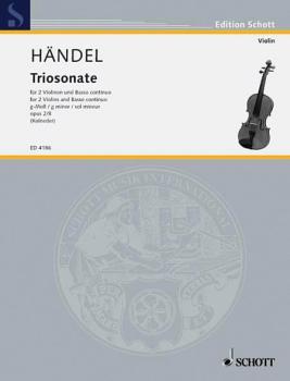 9 Trio Sonatas Op. 2, No. 8 (HL-49004684)