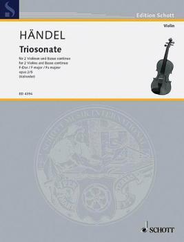 9 Trio Sonatas Op. 2, No. 5 (HL-49004855)