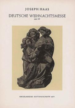 German Christmas Mass (Vocal Score) (HL-49004912)