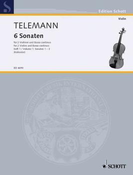 6 Sonatas - Vol. 1:1-3 (HL-49005085)