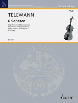 6 Sonatas - Vol. 2:4-6 (HL-49005086)