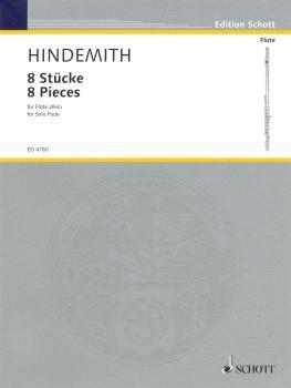 8 Pieces for Flute (1927) (HL-49005129)