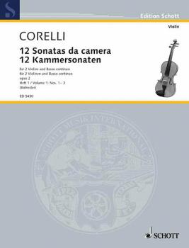 12 Trio Sonatas Op. 2, Nos. 1-3 (Score and Parts) (HL-49005688)