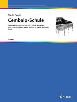 Cembalo Schule (German Text) (HL-49006774)