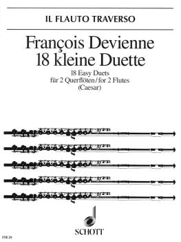 18 Easy Duets (for 2 Flutes) (HL-49010591)