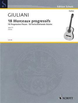 18 Progressive Studies, Op. 51 (Guitar Solo) (HL-49010981)