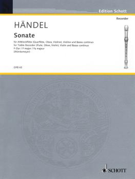 2 Sonatas: No. 2 in F Major (for Treble Recorder, Violin, and B.C.) (HL-49011342)